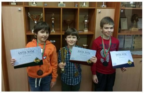 Шахматы. Числов Сергей - серебряный призер первенства Минска в возрасте до 10 лет!