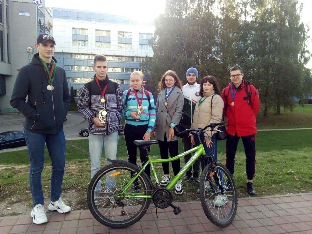 Соревнования по технике велосипедного туризма