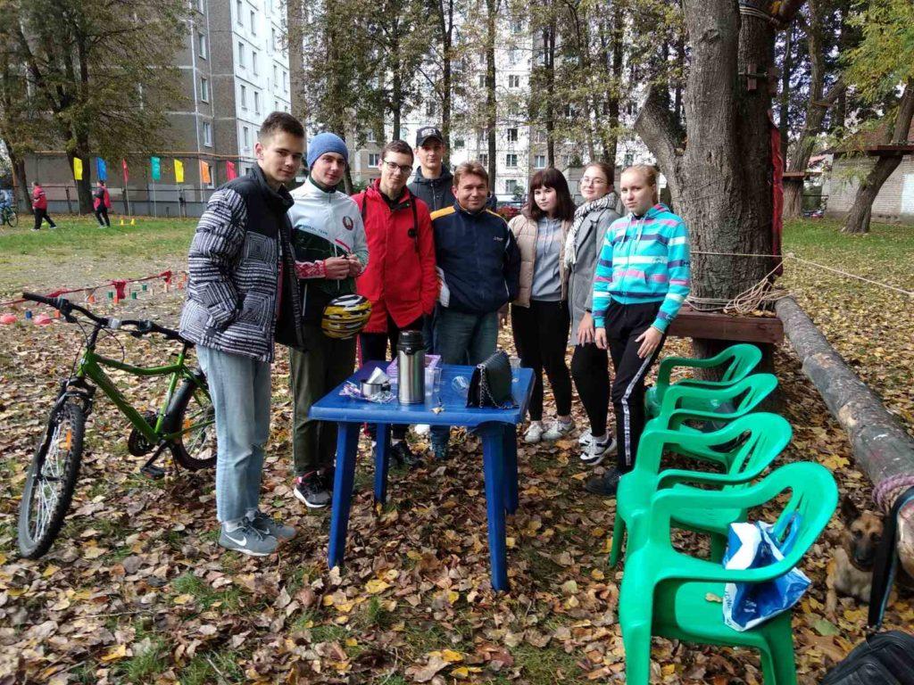 Успешный заезд! Команда «Сфера» ГУ «Московский ФОЦ» заняла 2 место в городских соревнования по технике велосипедного туризма.