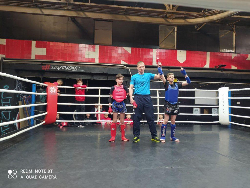 Соревнования по таиландскому боксу